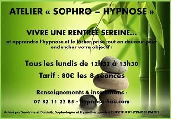 atelier-sophrologie-hypnose Pau